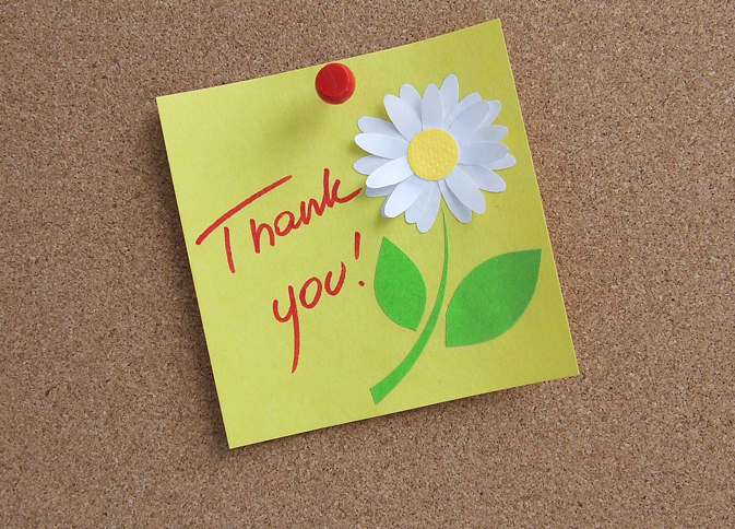 6 Thank You Notes You Should Write After Your Addmission